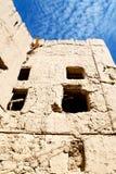 in Oman das alte verlassen Lizenzfreie Stockbilder