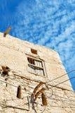 in Oman das alte verlassen Lizenzfreie Stockfotos