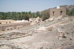 Oman desert land. Desert land in Oman near Muscat royalty free stock image