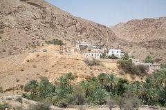 Oman desert land. Desert land in Oman near Muscat stock photos