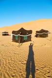 in Oman die alte Wüste leer Lizenzfreie Stockfotografie