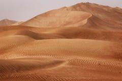Oman: Empty quarter Stock Photos