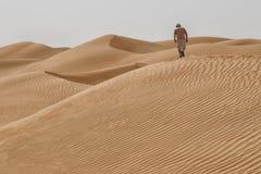 Oman: Empty quarter Royalty Free Stock Photo