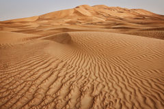 Oman: Empty quarter Stock Photography