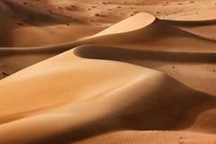 Oman: Empty quarter Royalty Free Stock Image
