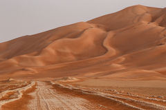 Oman: Empty quarter Stock Image