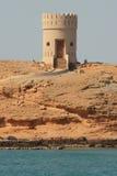 Oman: Farol de Sur Imagens de Stock