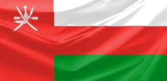 Oman Flag Royalty Free Stock Photos