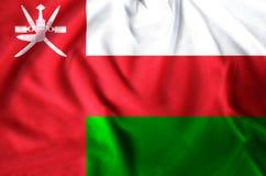 Oman-Flaggenillustration lizenzfreie abbildung