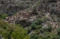 Oman historiska byggnader royaltyfria foton
