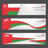 Oman independence day abstract background design banner and flye. R, postcard, landscape, celebration vector illustration - This Vector EPS 10 illustration is vector illustration