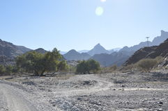 Oman-Landschaft Stockbilder