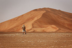 Oman: Leeres Viertel Lizenzfreie Stockfotografie