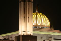 Oman mosk sułtan qaboos obraz royalty free