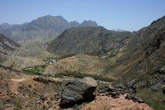 Oman mountains Stock Photo