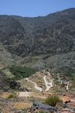 Oman mountains Stock Photography