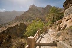 Oman Mountains Stock Photos