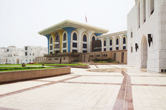 Oman. Muscat. The Al Alam Palace. Royalty Free Stock Images