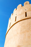 in oman    muscat    the    and  brick Royalty Free Stock Photo