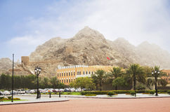 Oman. Muscat. A medieval fortress. Royalty Free Stock Photography
