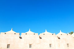 in oman muscat the old mosque minaret and religion in clear sky Stock Photos