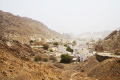Oman. Muscat. The old town. Royalty Free Stock Photos