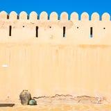 in Oman-Muskatellertraube die alte Defensive Stockbild