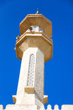 in Oman-Muskatellertraube die alte Moschee Stockfoto