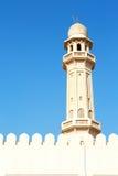 in Oman-Muskatellertraube die alte Moschee Lizenzfreie Stockfotografie