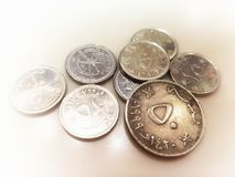 Oman mynt Oman pengar arkivfoton