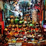 Oman. Nice colours sovonirs gifts Royalty Free Stock Images