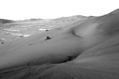 in oman old desert  rub al khali the empty  quarter and outdoor Royalty Free Stock Photo