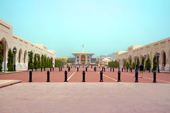 Oman. The Palace Of Al-Alam. Royalty Free Stock Images