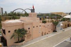 Oman paviljong Royaltyfri Foto