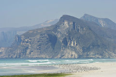Oman: Praia em Dhofar imagens de stock