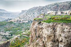 Oman Saiq Plateau Stock Photo