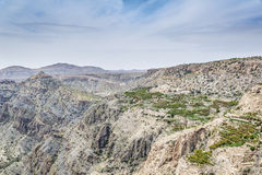 Oman Saiq Plateau Village Royalty Free Stock Image