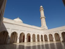 Oman Salalah, Sultan Qaboos moské arkivfoton
