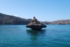 Oman sandstone Stock Photography