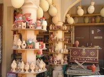 Oman souvenir shop. Picture of souvenirs shop is  taken in Nizwa city in Oman Stock Photo