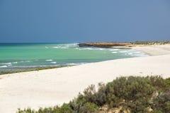 Oman strand Fotografering för Bildbyråer