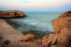 Oman: Tiwi Coast Stock Photos