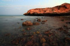 Oman: Tiwi Coast Stock Photo