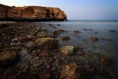 Oman: Tiwi Coast Stock Image