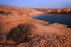 Oman: Tiwi Coast Royalty Free Stock Photography
