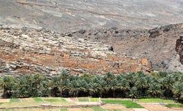 Oman village Stock Image