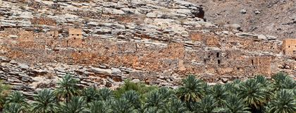 Oman village Stock Images