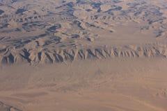 Oman-Wüste, aereal Ansicht Lizenzfreie Stockbilder