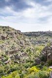 Oman Wadi Bani Habib Stockbild