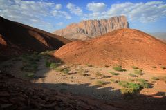 Oman: wadi damm Stock Photos